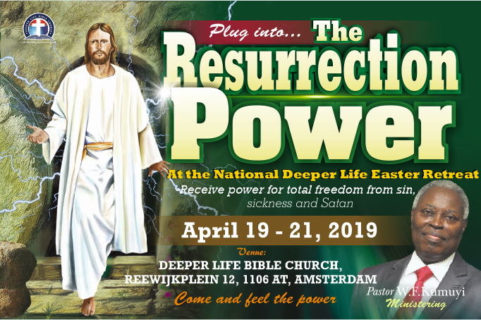 National Easter Retreat 2019, 19 - 21 April, 2019